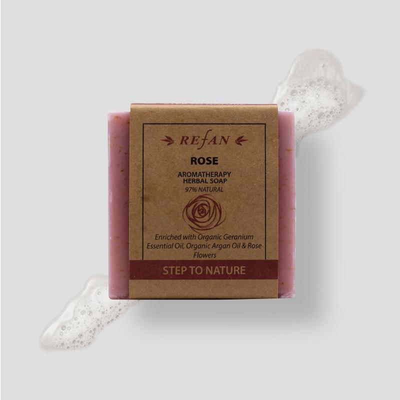 Rose - Herbal Soap -