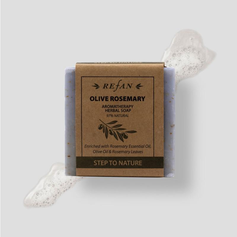 Olive Rosemary - Herbal Soap -