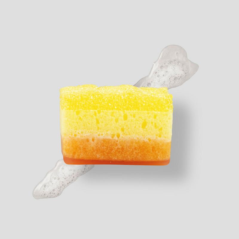 Tropical Mango - Peeling Soap Sponge -