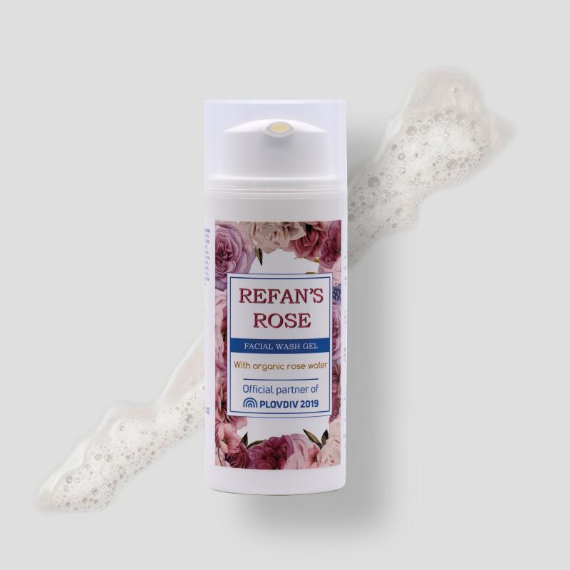 Refan's Rose - Facial Wash Gel -