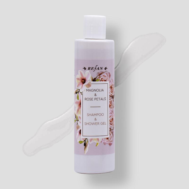 Magnolia & Rose Petals  - Shampoo & Shower Gel -